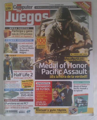 Vendo revista COMPUTER HOY JUEGOS Nº 45