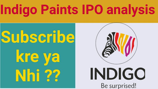 Indigo Paints IPO analysis