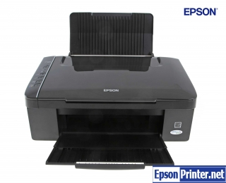 Reset Epson SX117 printing device by software