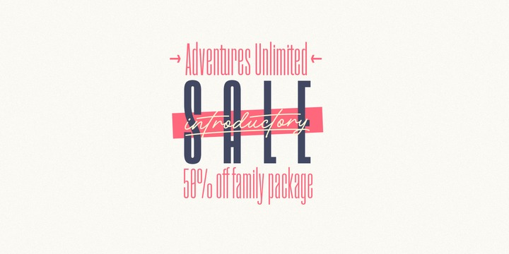 Download Adventures Unlimited Font Family From My Creative Land
