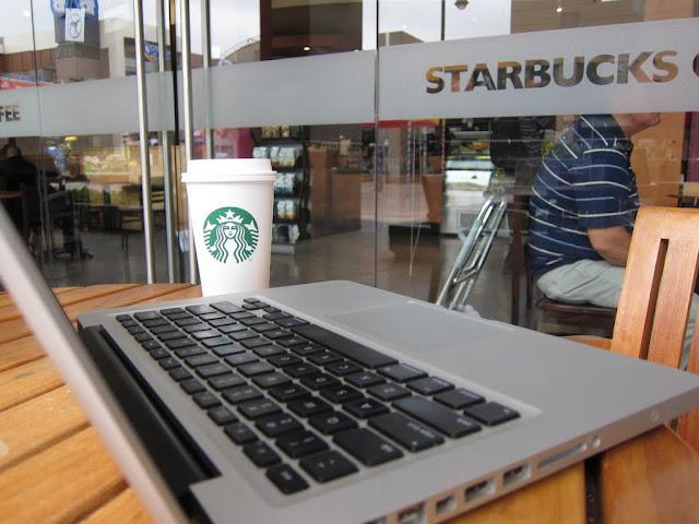 Starbucks in Trujillo shopping mall