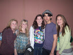 "Joe Jonas--he's the one in the hat--stops for a quick snap shot Dec. 27 at Harkins Theater in Southlake. The girls are Kate Kidd, Abby Schneider, Madi Koontz and Meaghan Baker. Word on the street is that Joe took in the Tom Cruise flick ""Valkyrie"" with his dad."