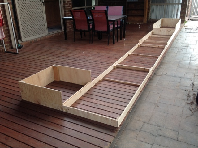 Barcoola second day of easter new layout progress for 4 8 meter decking boards