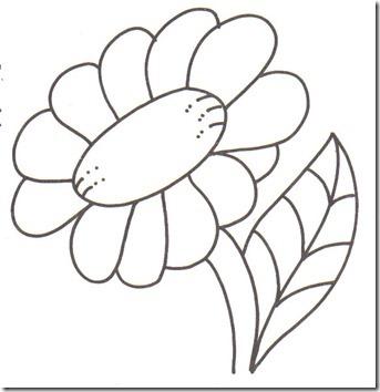 11flores primavera colorear  (6)
