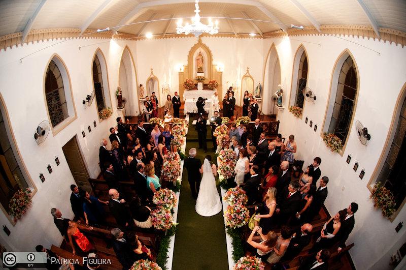 Foto de casamento 0824 de Fabiana e Guilherme. Marcações: 29/10/2010, Capela Santa Ignez, Casamento Fabiana e Guilherme, Igreja, Rio de Janeiro.