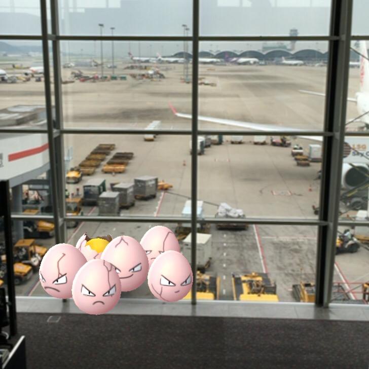 【ポケモンGo】香港国際空港は「ビリリダマ」「コイル」の巣?