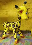 Papier-mâché Giraffe by Abby
