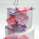 Pink lilac 21st tiered floral 11.JPG