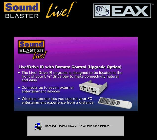Sb0100 live creative driver sound blaster