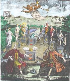 From Natalis Comes Mythologiae 1616, Alchemical And Hermetic Emblems 1