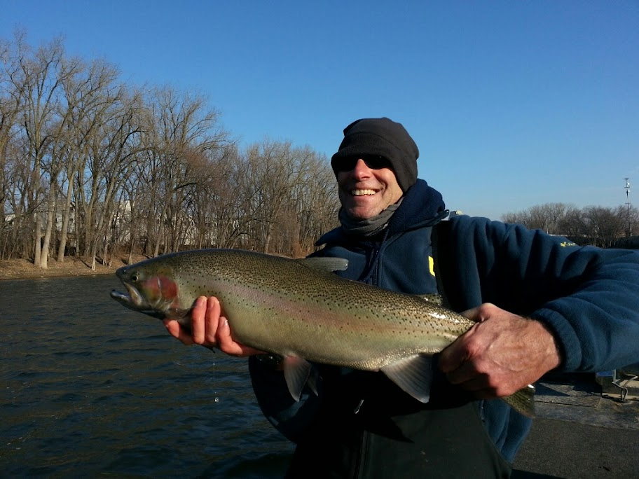 Charter Fishing on the Grand River near Grand Rapids
