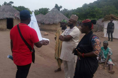 Onoja Commends Mercy Johnson on Inikpi Movie, Kogi Arts Development - By Mohammed Yabagi & Victoria Pleroma
