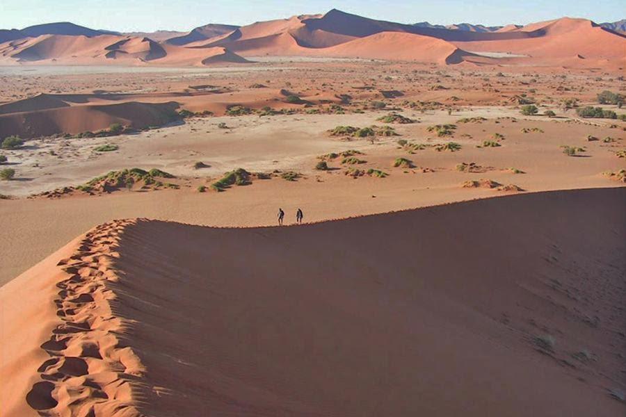 Parque Nacional de Namib-Naukluft, Namibia, otra de las maravillas naturales del mundo