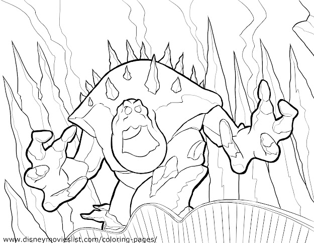 Marshmallow  Disneys Frozen Coloring Pages Sheet