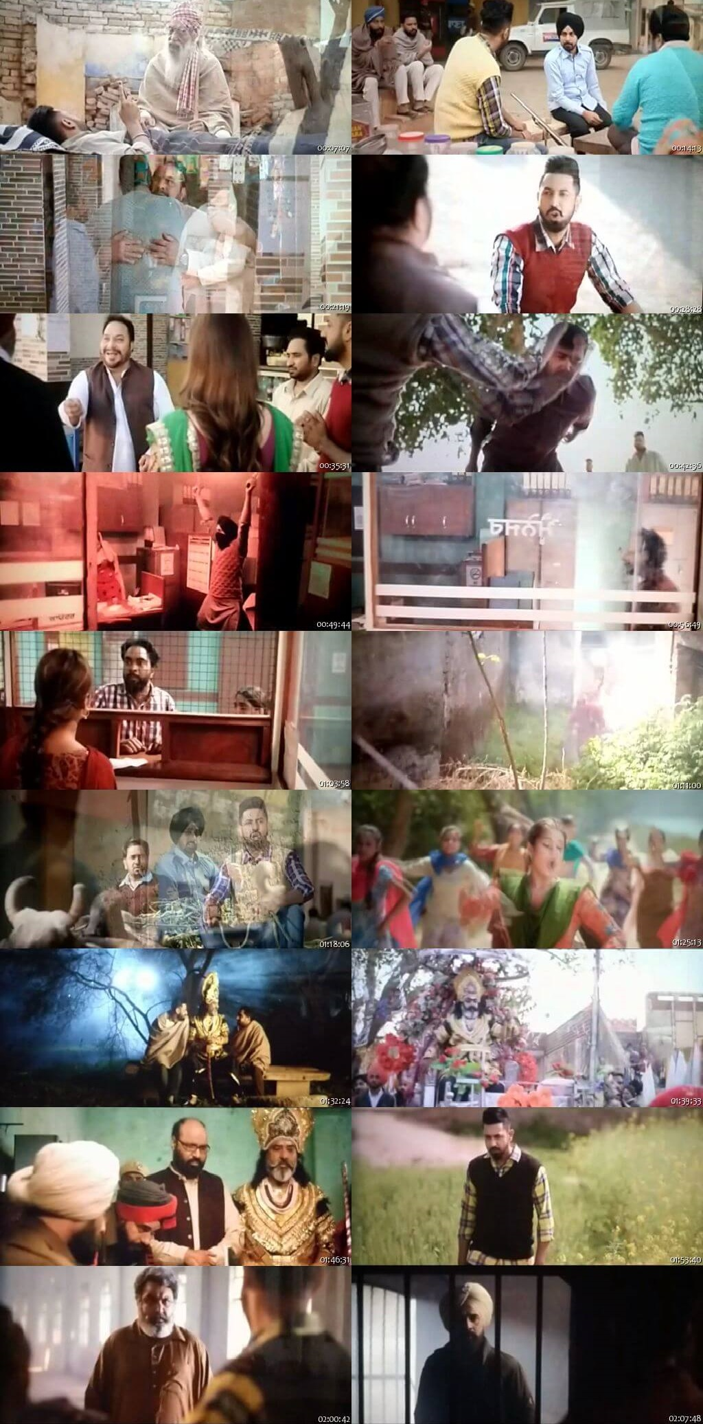 Screen Shot Of Daaka 2019 300MB PdvdRip 480P Full Punjabi Movie Watch Online Free Download