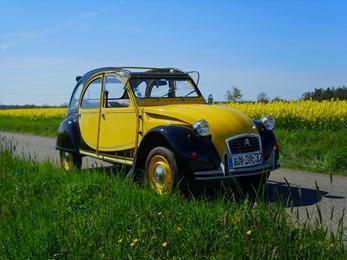 Citroën 1982 2 CV Charleston jaune
