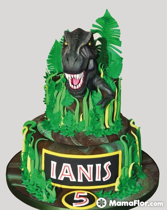 pastel de dinosaurios - 18