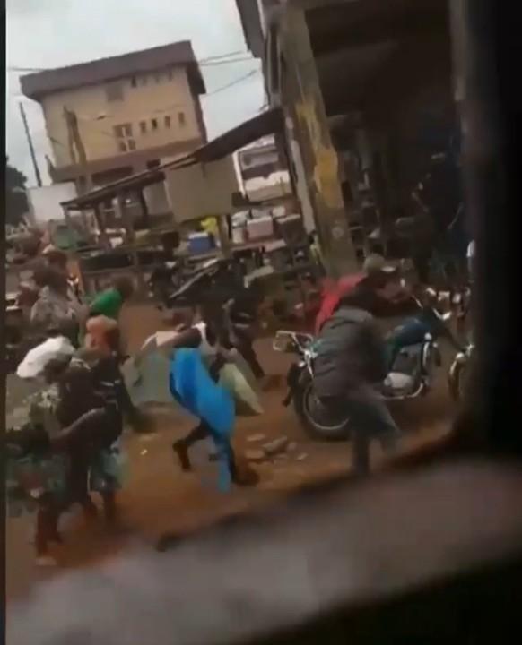 Owerri Residents On The Run As Heavy Shooting Rocks  (Photos,Videos)