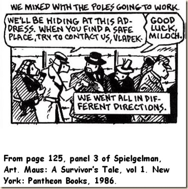 Pirates Revolutionaries Spiegelman Ch5 Of Maus I Mouse Holes Summary