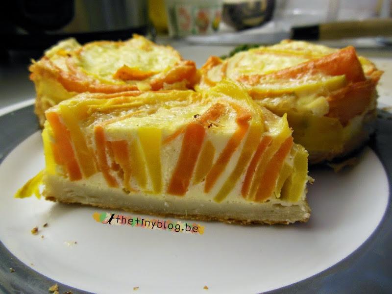 Carrots Circular Pie