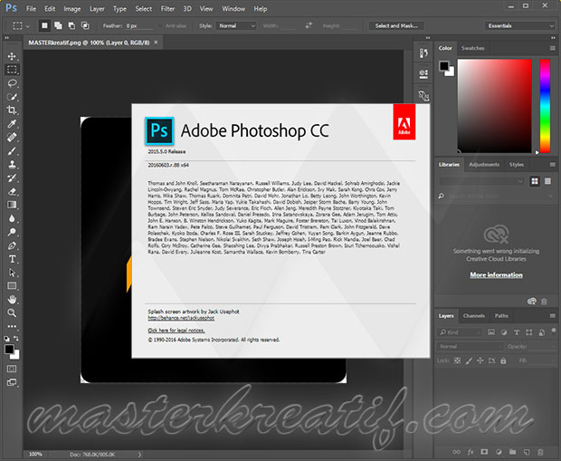 Adobe Photoshop CC 2015 5 Full Crack | MAZTERIZE