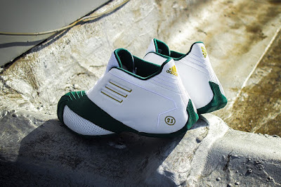 lebron james adidas tmac i svsm home 02 Closer Look at the Adidas TMAC I St. Vincent St. Mary Edition