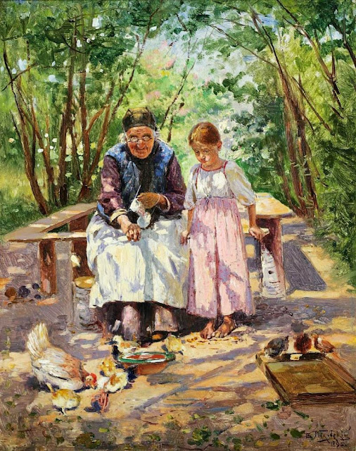Vladimir Makovsky - A pleasure shared (1896)