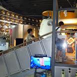inside the submarine in Odaiba, Tokyo, Japan