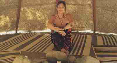 Paris Jackson Goes Topless As She Relaxes At Nature Retreat