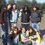 adolescenti a Roma marzo 2006