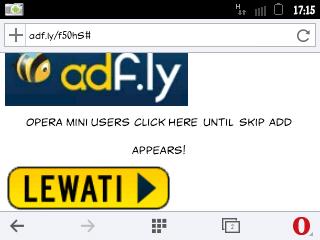 cara mudah melewati adfly menggunakan operamini android