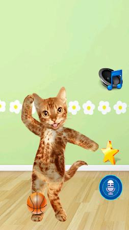 Dancing Talking Cat 1.2 screenshot 243078