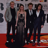OIC - ENTSIMAGES.COM - Wolf Alice - Theo Ellis, Ellie Rowsell, Joff Oddie and Joel Amey at the  The BRIT Awards 2016 (BRITs) in London 24th February 2016.  Raymond Weil's  Official Watch and  Timing Partner for the BRIT Awards. Photo Mobis Photos/OIC 0203 174 1069