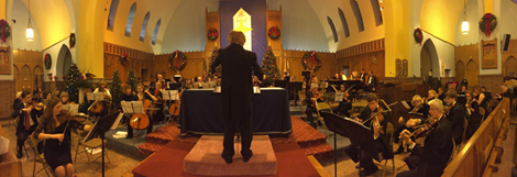 Photo 1 – NJIO's annual holiday concert is always a festive event for the family