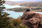 Vasilisa Overlooking Lago Nordenskjold (Torres Del Paine, Chile)