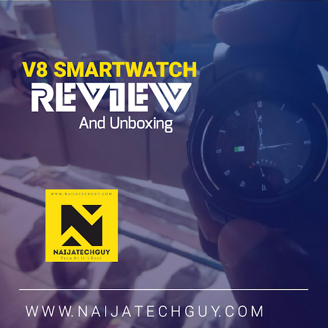 V8 Smartwatch Review - This Watch Does Almost Everything Your SmartPhone Can Do 1