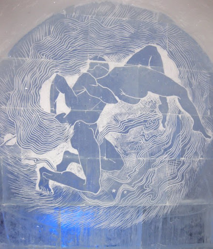 Werk van Gallén Kallela in ijs