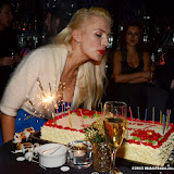 WWW.ENTSIMAGES.COM - Lana Holloway   at    Lana Holloway - birthday party at Avista Bar, The Millennium Hotel Mayfair, London December 16th 2013                                                   Photo Mobis Photos/OIC 0203 174 1069