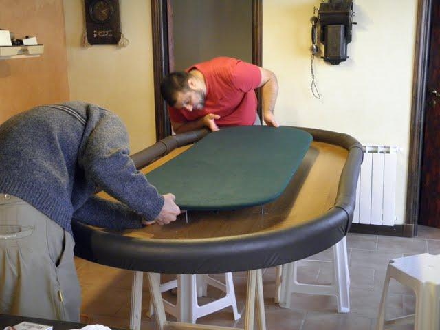 La Mesa de Poker para los amigos en unos pocos pasos !!!