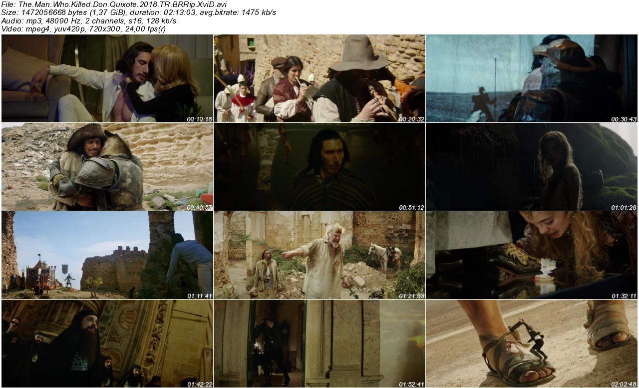 Don Kişotu Öldüren Adam 2018 - 1080p 720p 480p - Türkçe Dublaj Tek Link indir