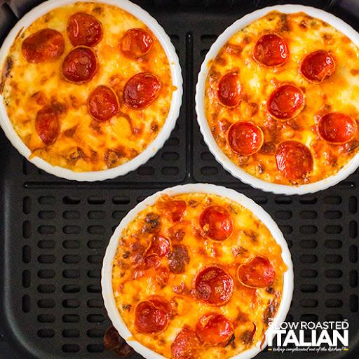 Pizza Dip Recipe (Air Fryer)