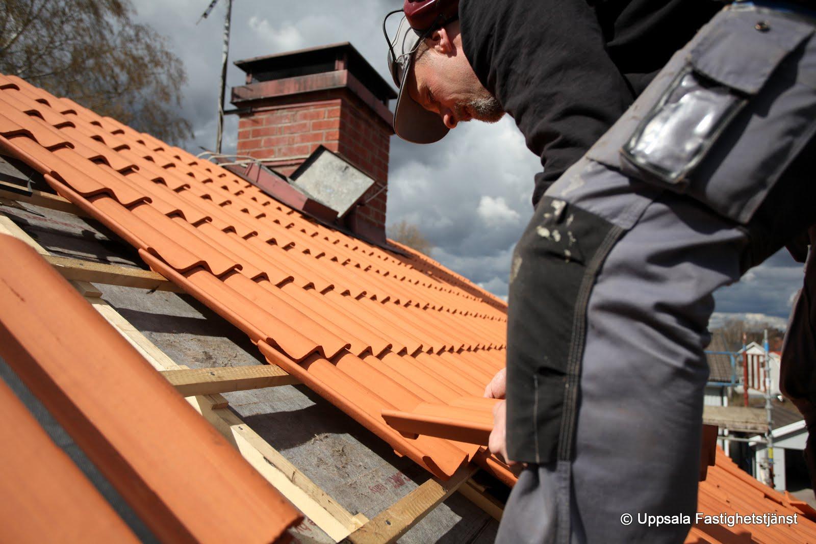 Inredning lägga nytt tak kostnad : Takrenovering och takläggning – Uppsala Fastighetstjänst