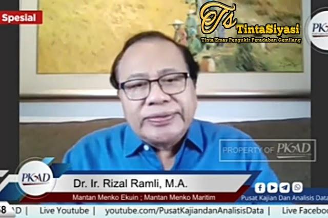 Rencana Pemerintah PPN Sembako dan Sekolah, Rizal Ramli: Ini Jelas Tidak Benar dan Zalim
