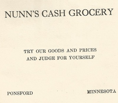 Nunns Grocery
