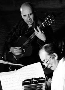 Dúo El Tango. Carles Pons, guitarra y Orlando di Bello, bandoneón