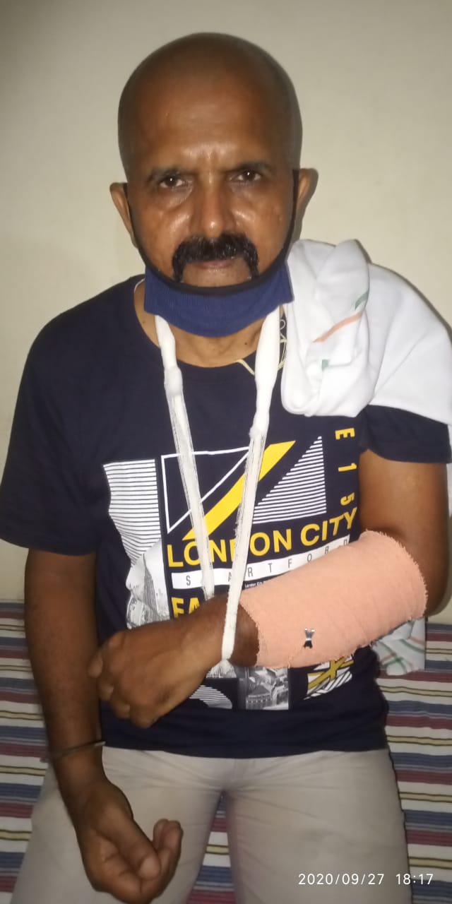 देश के चौथे स्तंभ पत्रकार पर हमले की निंदा,गिरफ्तारी की मांग