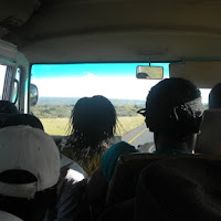 A crowded bus in Botswana