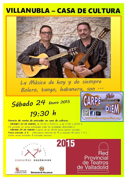 Villanubla - CASA DE CULTURA - Circuitos Escénicos - Red Provincial de Teatros de Valladolid