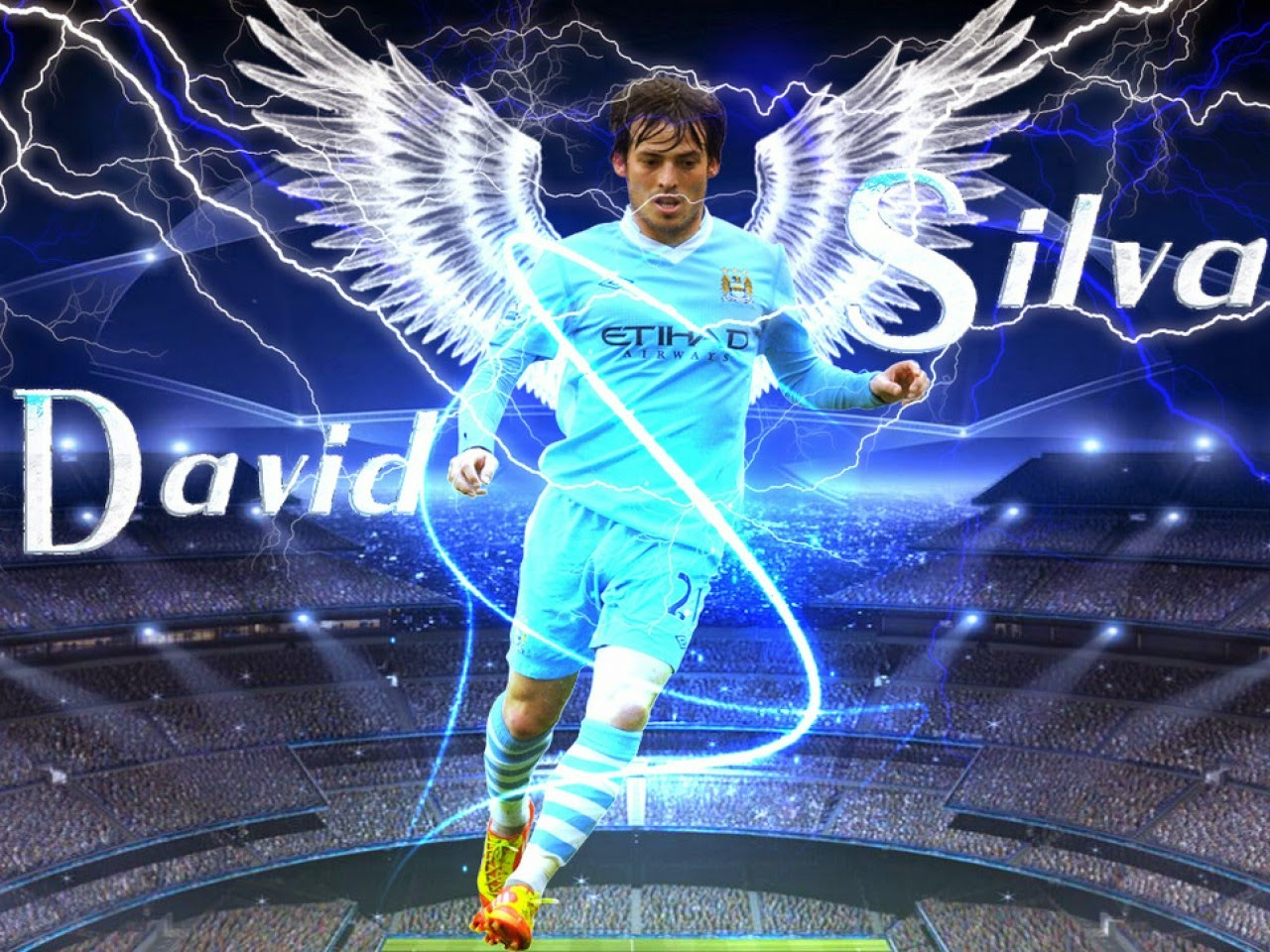 Download David Silva Wallpapers HD Wallpaper
