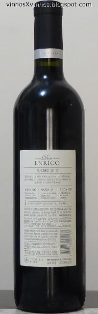 Vinho argentino malbec